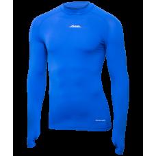 Футболка компрессионная с длинным рукавом Camp PerFormDRY Top LS JBL-1200-071, синий/белый