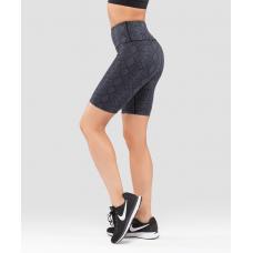 Женские спортивные шорты Rock Snake FA-WS-0202-889, с принтом