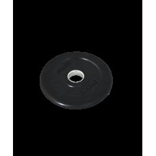 Диск обрезиненный Core BB-202 d=26 мм, стальная втулка, черный, 0,5 кг
