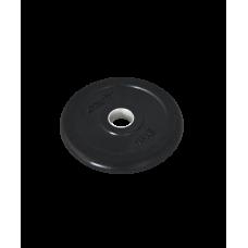 Диск обрезиненный BB-202, d=26 мм, черный, 1 кг