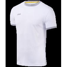 Футболка футбольная JFT-1010-018, белый/серый, детская