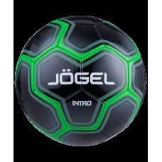 Мяч футбольный Intro №5, черный