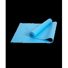 Коврик для йоги и фитнеса Core FM-101 173x61, PVC, синий, 0,3 см