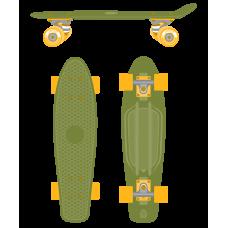 Круизер пластиковый Soldier 22