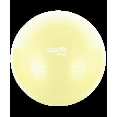 Фитбол Core GB-104 антивзрыв, 900 гр, желтый пастельный, 55 см