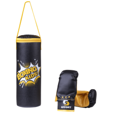 Набор для бокса E1455, кожзам, черный