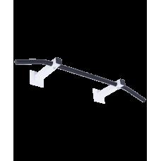 Турник настенный Slim 1, разборный, d=28 мм, ширина 100 см, вынос 25 см