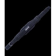 Пояс для фитнеса Core SU-310 универсальный, текстиль, черный