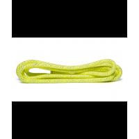 Скакалка для художественной гимнастики RGJ-403, 3м, салатовый/серебряный, с люрексом