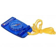 Компас стрелочный, свисток, термометр. Материал: пластмасса. Цвет: синий. Цена деления: 10 гр. :(DC3