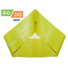 Эспандер-петля GO DO WIDE. Цвет: зелёный. Длина в сложенном виде 30,5 см. Ширина 7,5 см. Толщина 0,7