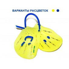 Лопатки для плавания SWIM TEAM. Размер L. S-HS-L.  Состав: пластмасса, силикон.