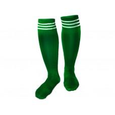 Гетры футбольные. Цвет: зелёный. Размер 38-39: 9001