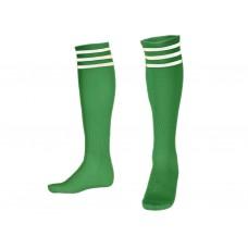 Гетры футбольные. Цвет зелёный. Размер 39-42: BB