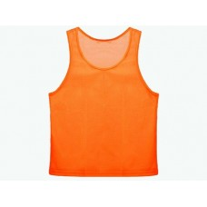 Манишка сетчатая. Цвет: оранжевый. Размер S. Предназначена для отличия полевых игроков разных команд