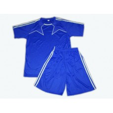 Форма футбольная. Цвет синий. Размер 52. :(Ке162-52):
