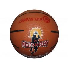 Баскетбольный мяч SPRINTER №7 . Игровой и тренировочный мяч для баскетбола. Резина, бутиловая камера
