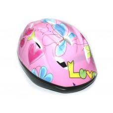 Защитный шлем для роллеров, велосипедистов. Материал: пластмасса, пенопласт. К-8-2