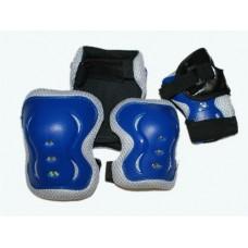 Защита роликовая. В наборе: 2 защиты колена, 2 защиты локтя, 2 защиты кисти. Размер S. :(1531):