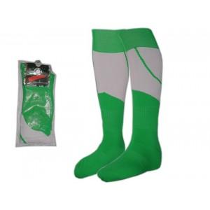 Гетры футбольные. Цвет: зелёно-белый. Размер: 40-44. K-S