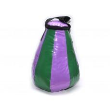 Груша боксерская капля 5 кг. Материал: армированный двусторонний ПВХ. Наполнитель:  песок, опилки.