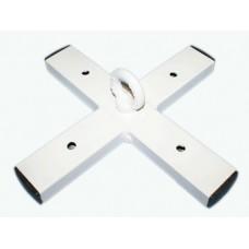 Кронштейн потолочный ( форма-крест) нагрузка до 70 кг :(нов):