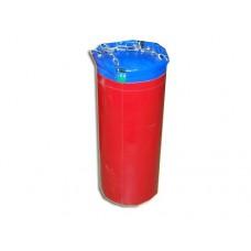 Мешок боксерский цилиндр 15 кг. Высота 63 см, диаметр 25 см. Материал: двусторонний армированный ПВХ