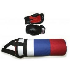 Набор бокс (груша  цилиндр +перчатки) :(3):