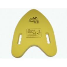 Доска для плавания. Материал: пеноматериал. Длина 40 см, ширина 30 см, толщина 4,5 см:(Y-23):