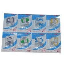 Набор для плавания ( беруши + зажим носа ) на блистере, в упаковке 8 шт. :F-0122: