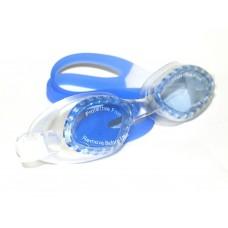 Очки для плавания юниор материал оправы - силикон, линзы с защитой от UV-лучей, антизапотевающее пок