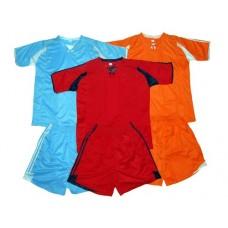 Форма футбольная взрослая. Цвета : синий,  красный, оранжевый. Размеры XL. :(SW-1013):