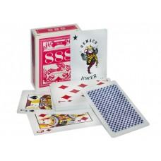 Карты игральные. 54 шт. в уп. Материал: пластик. Упаковка - картон. 888-3