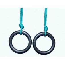 Кольца гимнастические пластиковые без креплений: 15019-ника