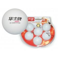 Шарики для настольного тенниса 1* HP. Размер. 40 мм. Материал: ABS  пластик. Количество штук в упако
