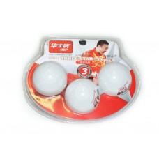 Шарики для настольного тенниса 3* HP. Размер. 40 мм. Материал: ABS пластик. Количество штук в упаков