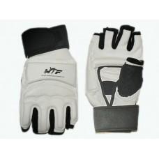 Перчатки для тхеквондо с напульсником на липучке. Размер L. :(ZZT-004L):