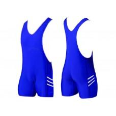 Трико борцовское. Размер XХХL. Цвет: синий.