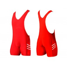 Трико борцовское. Размер XХХL. Цвет: красный.