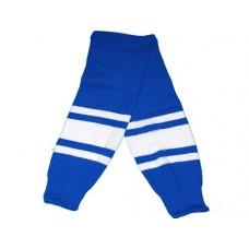 Гамаши хоккейные (без шва). Цвет: синий, красный, чёрный. Размерный ряд:.M.:(junior):