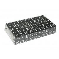 Кубик игровой №12. Цвет чёрный. Продажа упаковками. В упаковке 100 шт. 12#-Ч