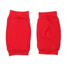 Наколенник для гимнастики и танцев ИНДИГО, р.М, цвет красный  (материал: трикотаж, поролон) :(к):