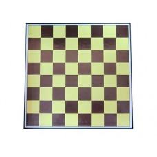 Доска картонная для игры в шахматы, шашки. Размер 30х30 см. :(Q220):
