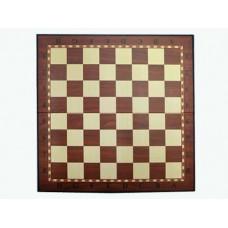 Доска картонная для игры в шахматы, шашки. Материал: картон. Размер 28,5х28,5 см. :(Q029):