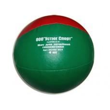 Мяч для атлетических упражнений (медбол). Вес 4 кг. Материал покрышки: кожзаменитель. Наполнитель: п