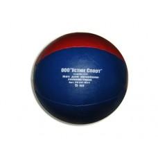 Мяч для атлетических упражнений (медбол). Вес 5 кг. Материал покрышки: кожзаменитель. Наполнитель: п