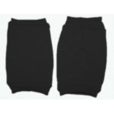 Наколенник для гимнастики и танцев ИНДИГО, р.М, цвет чёрный  (материал: трикотаж, поролон) :(ч):