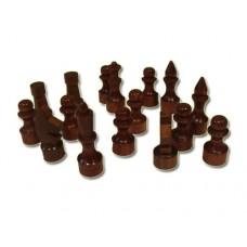Фигуры шахматные (лакированные, деревянные): 2,5