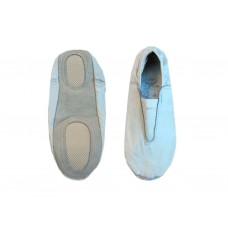 Чешки гимнастические кожаные, цвет белый, р-р 35.