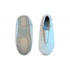 Чешки гимнастические кожаные, цвет белый, р-р 38.